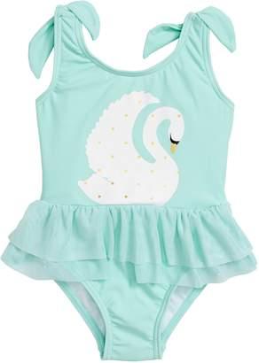 Snapper Rock Swan Tulle Skirt Swimsuit
