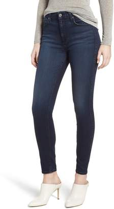 7 For All Mankind(R) b(air) High Waist Ankle Skinny Jeans