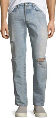 Hudson Men's Dixon Easy Straight Jeans, Lone Wolf