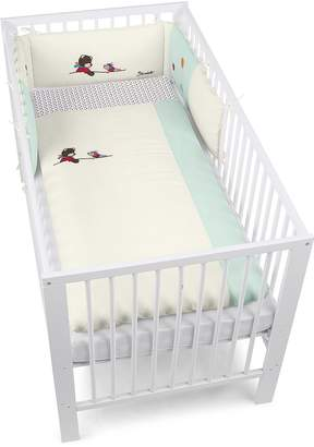 Sterntaler Bumper with Coordinated Baby Cot Bedding 135 x 100 cm Bobby The Bear