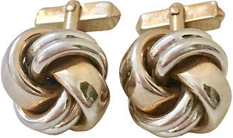 One Kings Lane Vintage 2-Tone Love Knot Cuff Links by Swank - Jacki Mallick Designs