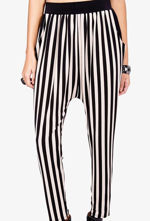 Forever 21 Striped Harem Pants