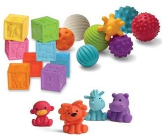 Infantino Balls, Blocks & Buddies Activity Toy Set
