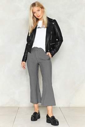 Nasty Gal Feelin' Just Line Pinstripe Pants