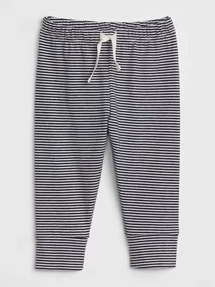Gap Organic Stripe Banded Pants