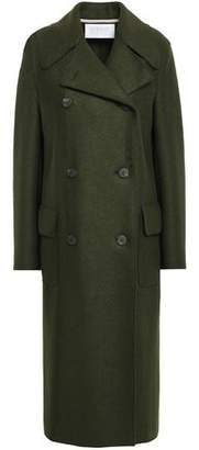 Harris Wharf London Double-breasted Virgin Wool-felt Coat