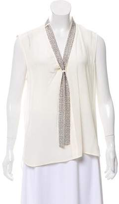 Belstaff Embellished Sleeveless Top