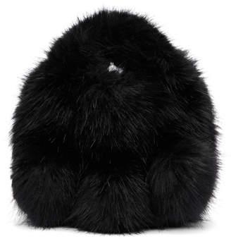 Comme des Garcons Black Small Faux-Fur Tote