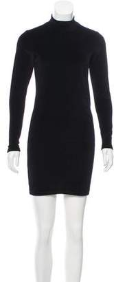 Alexander Wang Velvet Keyhole Dress
