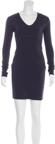 Alexander WangT by Alexander Wang Knit Knee-Length Dress