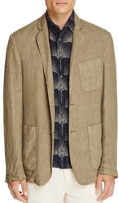 Billy Reid Larson Linen Slim Fit Blazer $595 thestylecure.com