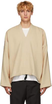 Jan-Jan Van Essche White Rectangular Wool Sweater