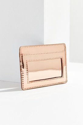 Urban Outfitters Metallic Card Case $10 thestylecure.com