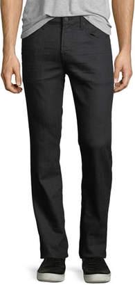 7 For All Mankind Men's Straight-Leg Airweft Denim Jeans, Soiree Black