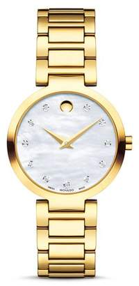 Movado Modern Classic Diamond Watch, 28mm