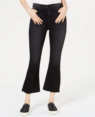 Hudson Jeans Holly High-Rise Crop-Flare Jeans