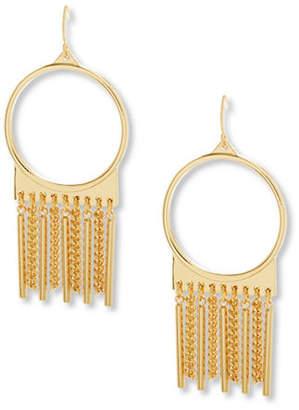 Steve Madden Fringed Drop Earrings
