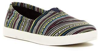 Toms Western Stripe Slip-On