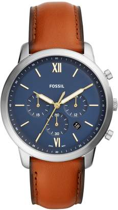 Fossil Neutra Chronograph Brown Leather Watch
