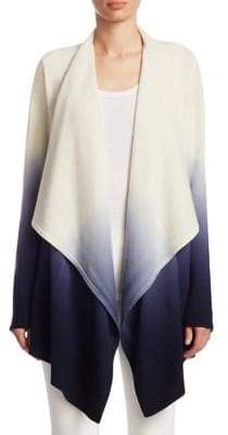 TSE x SFA Draped Cashmere Cardigan