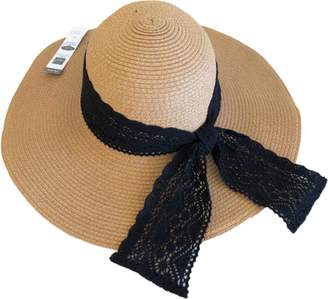 edbfba0ede700 at Walmart.com · Time and Tru Women s Lace Trim Floppy Hat