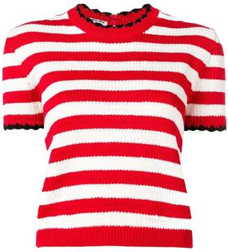 Miu Miu striped knit T-shirt