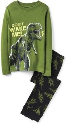 Crazy 8 Crazy8 Dino 2-Piece Pajama Set