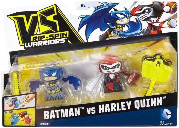 VS Rip-Spin Warriors DC Comics Batman & Harley Quinn 2-Pack