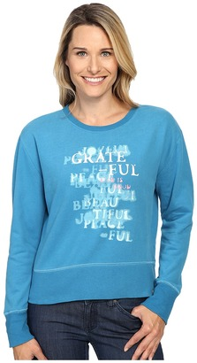 Life is good Grateful Stencil Go-To Crew $48 thestylecure.com