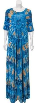 Raquel Allegra Tie-Dye Print Maxi Dress w/ Tags
