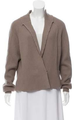 3.1 Phillip Lim Long Sleeve Rib Knit Cardigan
