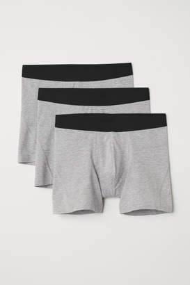 H&M 3-pack Boxer Shorts - Gray