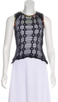 Dolce & Gabbana Crochet Tank Top