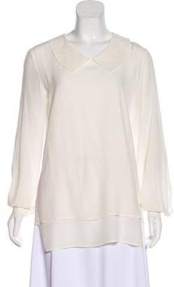 Ter Et Bantine Long Sleeve High-Low Top