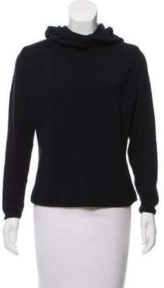 Valentino Hooded Long Sleeve Sweater