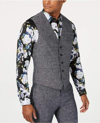 INC International Concepts Inc Men Slim-Fit Linen Vest