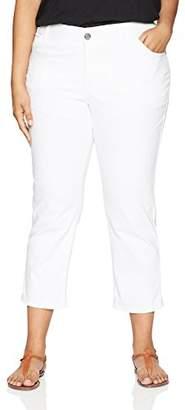 Lee Women's Plus-Size Midrise Total Freedom Kilee Capri Jean