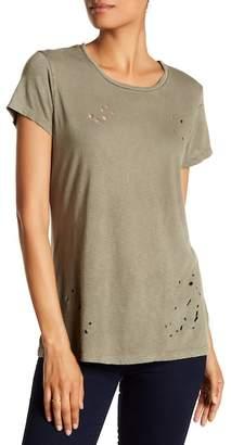 Sundry Short Sleeve Distressed Slub Tee $86 thestylecure.com
