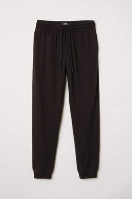H&M Sweatpants Regular fit - Black