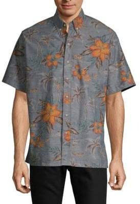 Reyn Spooner Coco De Hermanos Cotton Button-Down Shirt