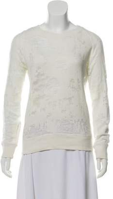 IRO Nona Distressed Sweatshirt