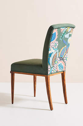 Anthropologie Felted Floral Elza Dining Chair