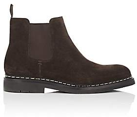 Heschung Men's Tremble Suede Chelsea Boots - Dk. brown