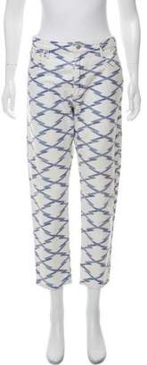 Isabel Marant High-Rise Printed Jeans