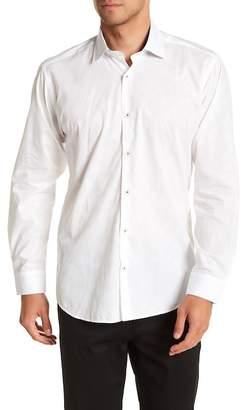Jared Lang Solid Slim Fit Sport Shirt