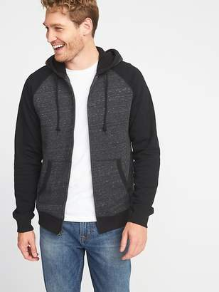 Old Navy Color-Blocked Sherpa-Lined Zip Hoodie for Men