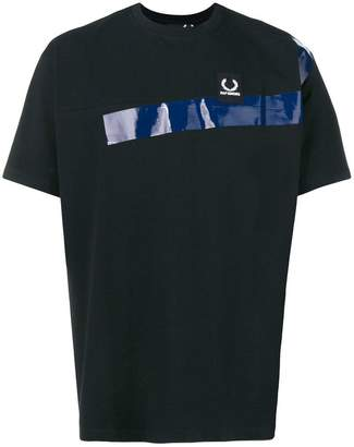 Fred Perry panelled T-shirt