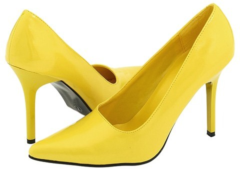The Highest Heel - Classic (Yellow Patent)
