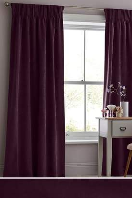 Plum Eyelet Curtains Shopstyle Uk