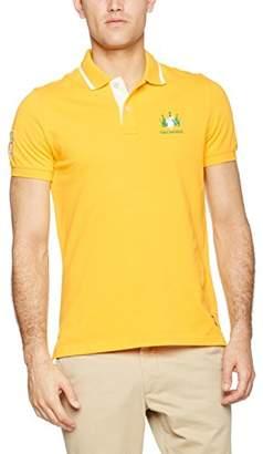 Galvanni Men's Dance Polo Shirt,Small